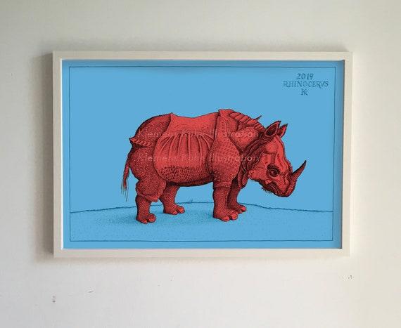 "Kunstkarte Albrecht Dürer /""Fledermaus/"""