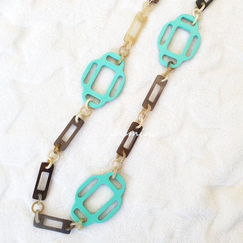 Vietnam Craft Buffalo Horn Jewelry Vintage Jewelry Horn Earrings
