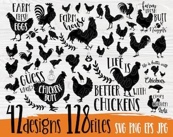Chicken Quote Svg Etsy