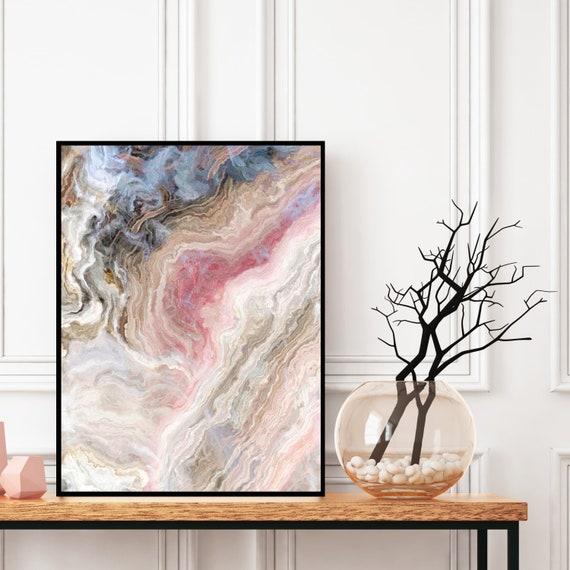 Geode Print, Agate Wall Art, Natural Marble Decor, Digital Download, Elegant Modern Art, Onyx Photography, Geode Wall Art, Marble Print.