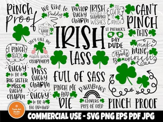 St Patricks Day SVG Bundle, Irish Svg, Lucky Svg