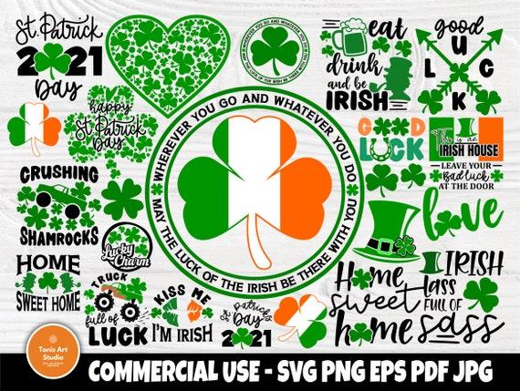 St Patricks Day SVG Bundle, Clover Svg, Irish Svg