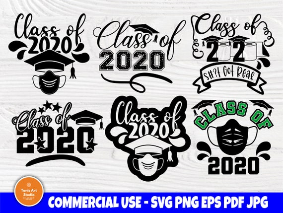 Class of 2020 Svg, Graduation Svg, Svg Cut Files