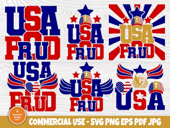 USA SVG Bundle, 4th of July Shirt, American Proud