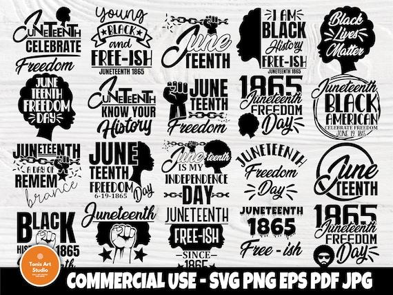 Black Lives Matter SVG, Juneteenth, Black History