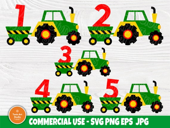 Birthday Boy SVG, Tractor Svg, Baby Boy Cut Files