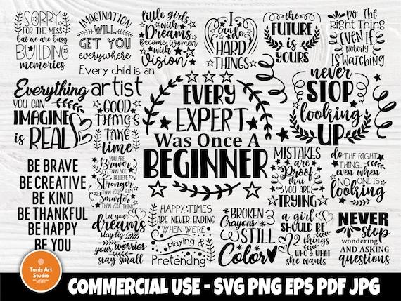 Motivational SVG Bundle, Inspirational Svg Quotes