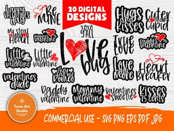 Valentine SVG Bundle | Kids Valentines Day | Love Svg | Valentines cut files | Cut Files for Crafters | Valentine's Cricut files | Heart Svg