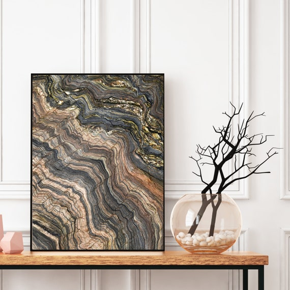 Agate Wall Art, Digital Download, Natural Geode Quartzite Photography Print, Modern Art, Abstract Wall Art, Colourful art, Geode Poster.