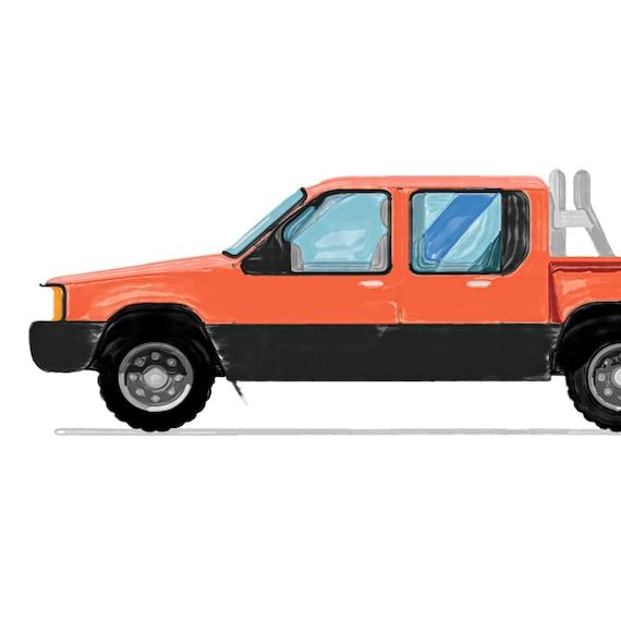 Casa De Muñecas Azul Pick Up Camión moderno Tienda de Juguetes Accesorio Tienda Vivero