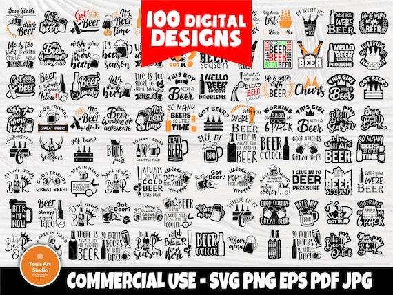 Beer SVG Bundle, Alcohol Svg, Beer Signs, Drinking