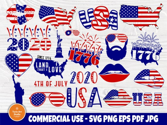 4th of July SVG, Patriotic Svg, American Flag Svg