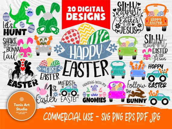 Easter SVG Cut Files | Funny Easter Quotes | Svg Bundle | Kids Easter Signs | Svg Files for Cricut | Happy Easter Svg | Silhouette Cut Files