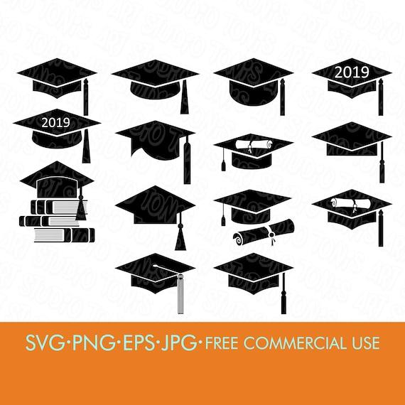 Graduation Cap Svg Grad Cap Svg High School Graduation Etsy
