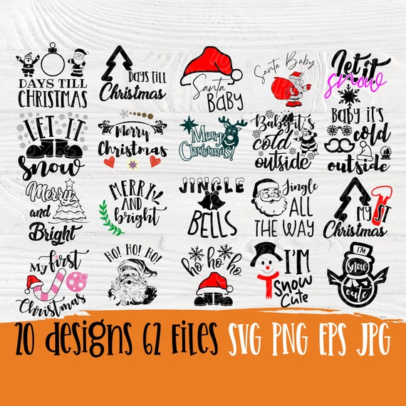 Funny Christmas quotes | Christmas SVG | Svg bundle | Merry christmas svg | Christmas signs | Silhouette cut files | Cricut files | Designs
