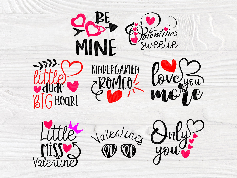 Download Valentine SVG Bundle | Kids Valentines Day | Love Svg ...