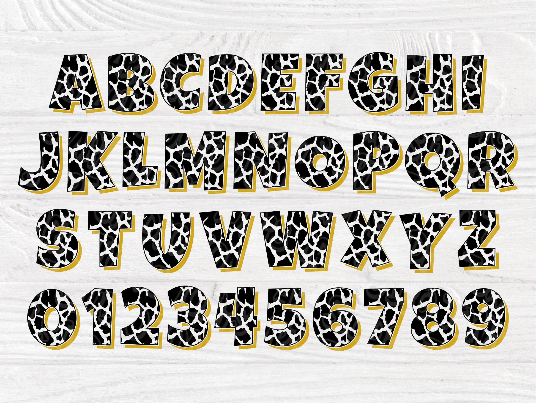 Download Leopard Font SVG | Leopard Alphabet | Cheetah Font | Svg ...
