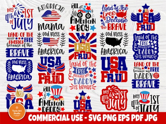 4th of July SVG, 1st Fourth of July, Patriotic Svg