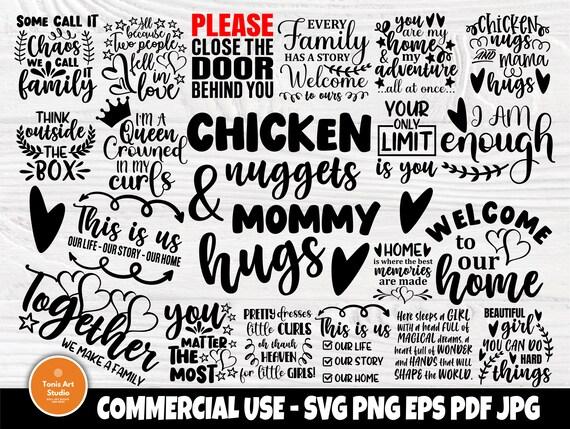 Family SVG Bundle, Home Svg, Motivational Signs