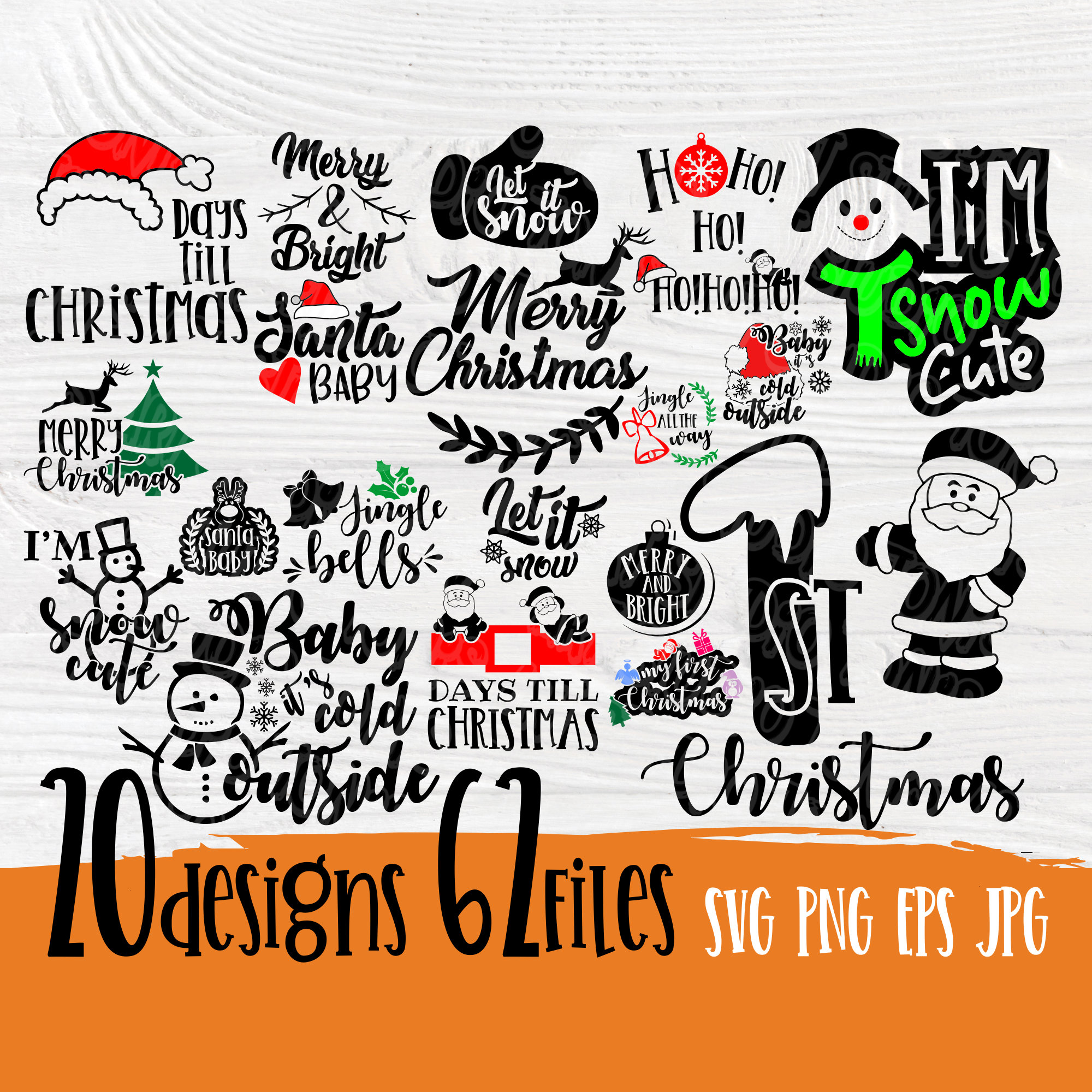 Christmas Quotes Svg Christmas Bundle Svg Merry Christmas Svg Christmas Signs Cut Files For Cricut Silhouette Funny Quotes Svg