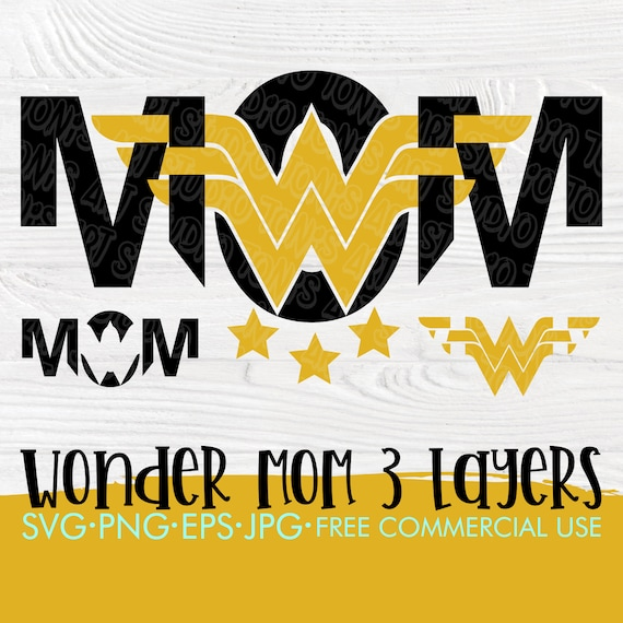 Wonder Woman Mom SVG | Wonder woman svg | Mom shirt svg | Svg shirt design | Mom cut files | Svg for cricut and silhouette | Cutting files