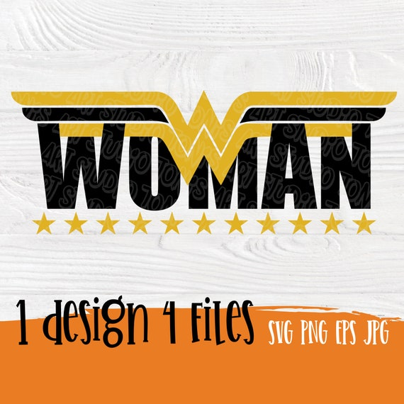 Wonder Woman SVG | Wonder woman | Superhero svg | Wonder woman logo | Super hero svg | Wonder mom svg | Wonder woman sirth | Svg cut file