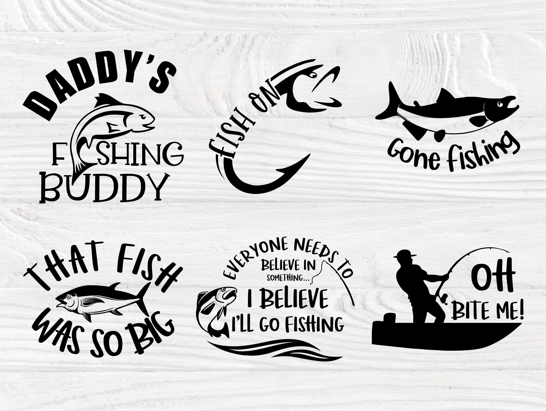 Download Fishing Svg Bundle Fisherman Shirt Bass Cut File