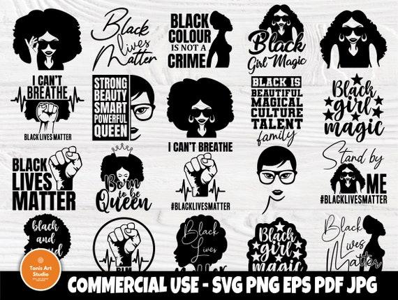 Black Woman SVG Bundle, Black girl Magic Svg Files