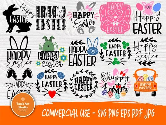 20 Happy Easter SVG Bundle