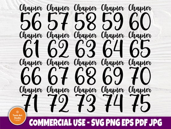 Chapter 56-75 Birthday SVG, 60th, 70th, Shirts Svg