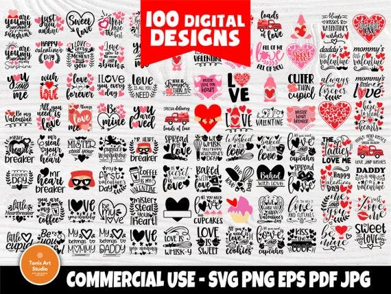 Valentines SVG Bundle, Valentine Gnomes, Heart Svg