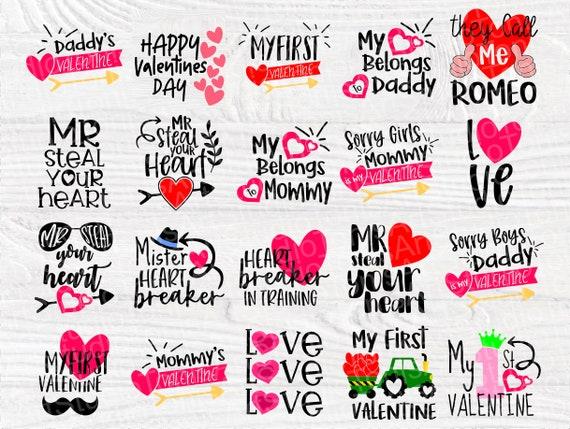 Valentine SVG Bundle | Kids Valentines Day | Love Svg | My First Valentine | Cut Files for Crafters | Valentine's Cricut files | Heart Svg