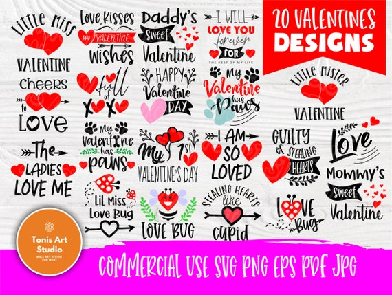 Valentine SVG Bundle | Funny Quotes Svg | Valentines Day Svg | Svg Files for Cricut | Valentines Cut Files | T shirt Designs | Love Svg