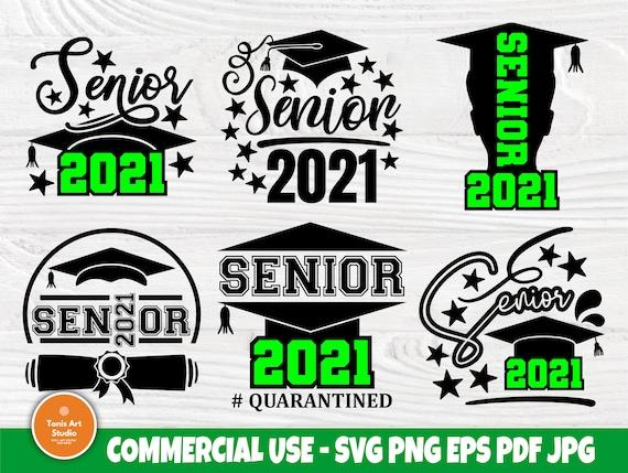 Senior 2021 SVG Bundle, Graduation Svg, Shirts Svg