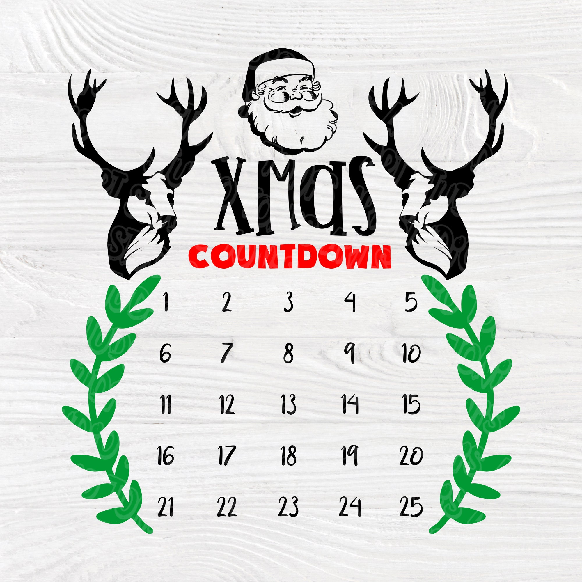 Download Christmas countdown SVG | Christmas svg | Christmas advent ...