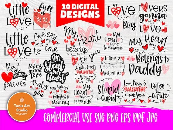 Valentine SVG Bundle | Kids Valentines Svg | Valentines Signs | Svg Files for Cricut | Valentines Cut Files | Love Svg | Svg Designs