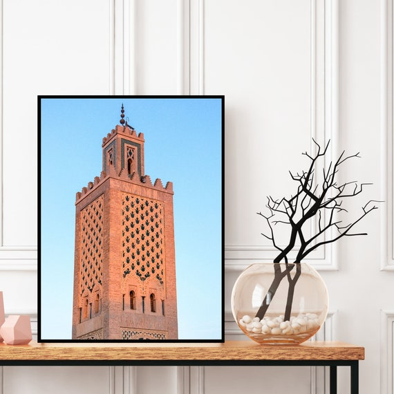 Moroccan decor Printable, Morocco Photography, Boho art print for Bohemian decor, Architecture print, Large wall art, Travel photography.