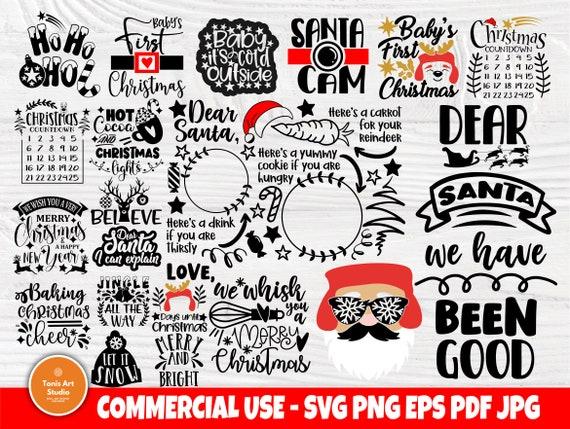 Christmas SVG Bundle, Shirt Svg, Funny Santa Claus