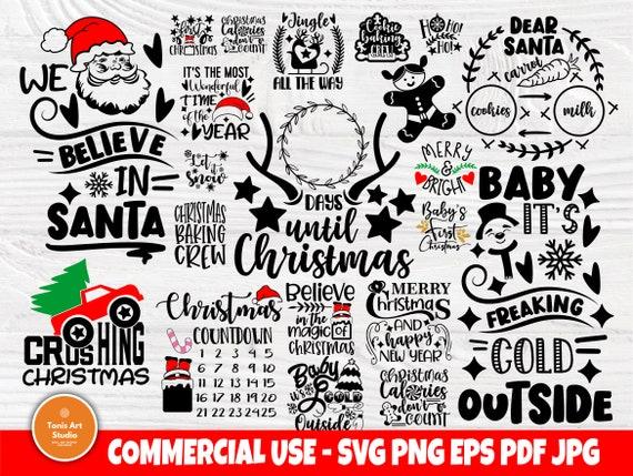 Christmas Bundle SVG, Funny Christmas Shirt Svg