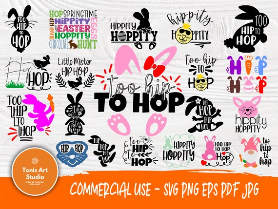 Hip hop SVG Bundle Easter Signs Svg Cricut Files