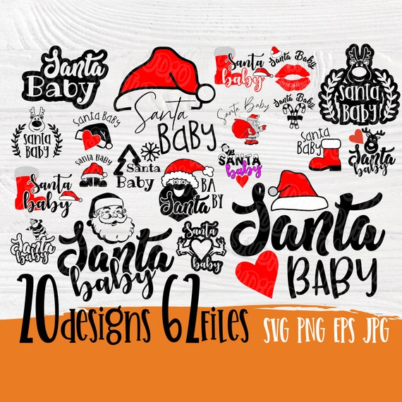 Santa baby SVG   Cutting files svg   Funny quotes svg   Santa svg   Santa baby cut files for cricut silhouette   Funny christmas svg