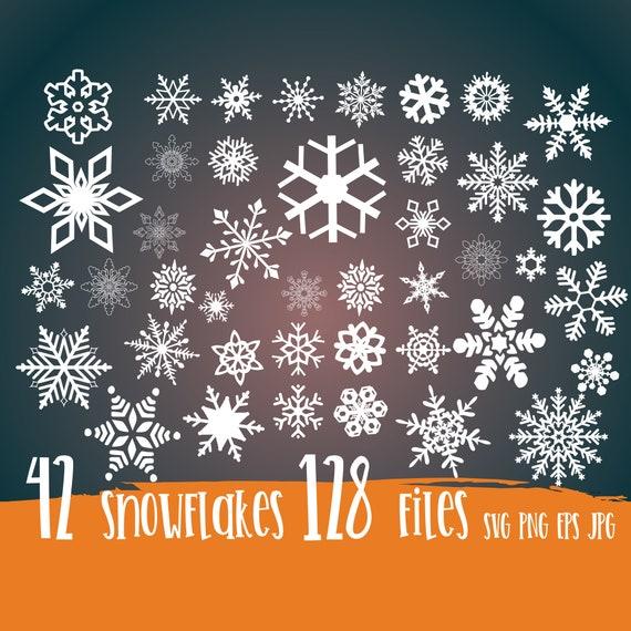 Snowflake SVG Bundle, Christmas Svg, Svg Cut Files