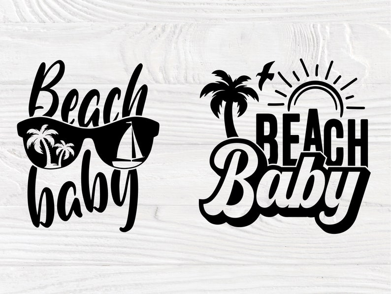 Shirt Svg Beach Baby SVG Summer Svg Holiday Svg