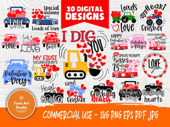 Valentine SVG Bundle | Kids Valentines Svg | Funny Valentines Signs | Cut Files for Crafters | Valentines Cut Files | Love Svg | Svg Designs