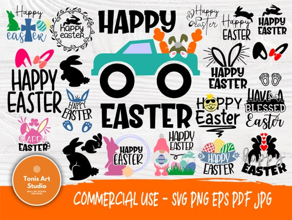 Happy Easter SVG Cut Files, Sayings Svg, Funny Svg