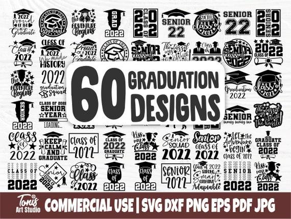 Graduation SVG Bundle, Senior Class of 2022 Svg