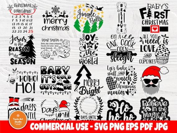 Christmas SVG Bundle, Santa Tray Svg, Santa Claus