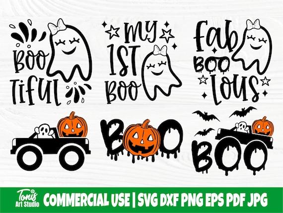 Boo SVG, Funny Halloween Svg, Ghost Svg, Kids Svg