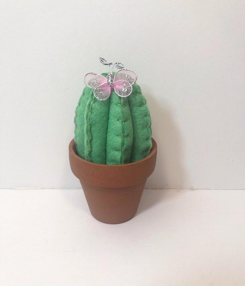 Cactus de fieltro