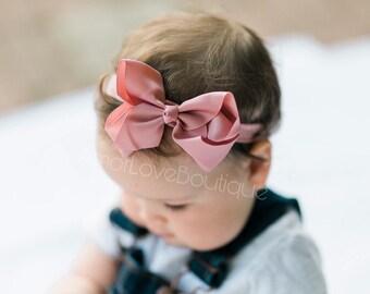 Baby HeadbandsBow HeadbandsBaby Girl HeadbandsHair Bow HeadbandsToddler HeadbandGrosgrain BowBow Headband SetBaby Headband SetBaby